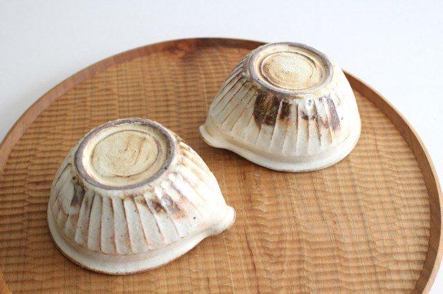 鉄散 しのぎ片口豆鉢 陶器 古谷製陶所 画像6