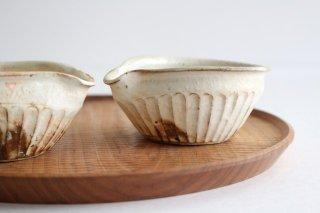 鉄散 しのぎ片口豆鉢 陶器 古谷製陶所商品画像