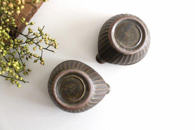 錆釉 しのぎ片口豆鉢 陶器 古谷製陶所 画像6