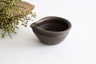 錆釉 しのぎ片口豆鉢 陶器 古谷製陶所商品画像