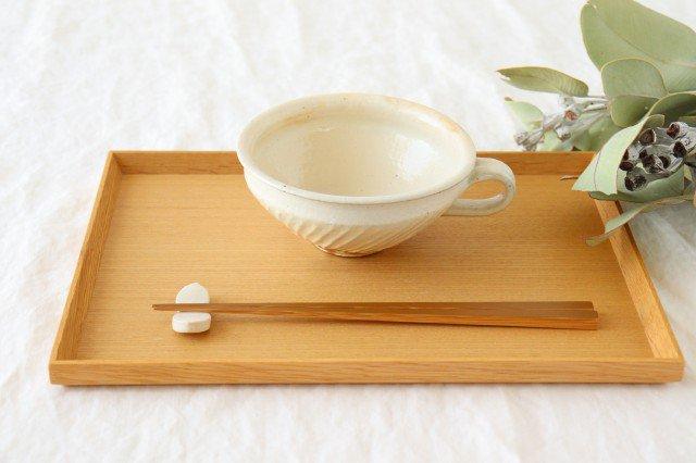 鉄散 斜めしのぎ手付スープカップ 陶器 古谷製陶所 画像5