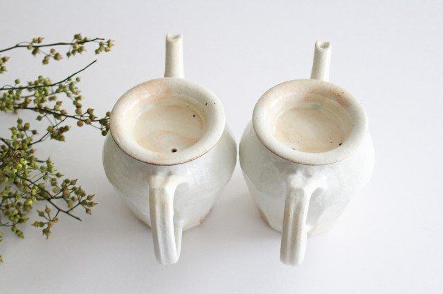 鉄散 面取ポット 高 陶器 古谷製陶所 画像2