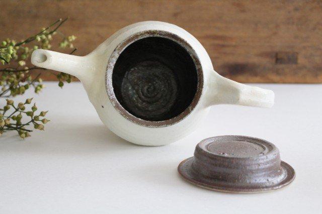 鉄散 面取ポット 高 陶器 古谷製陶所 画像5