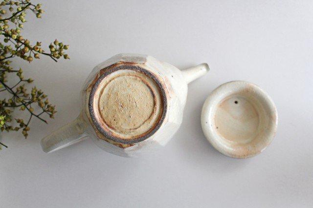 鉄散 面取ポット 高 陶器 古谷製陶所 画像6