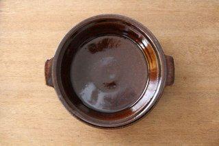 飴釉 耐熱グラタン皿 21cm 陶器 古谷製陶所商品画像
