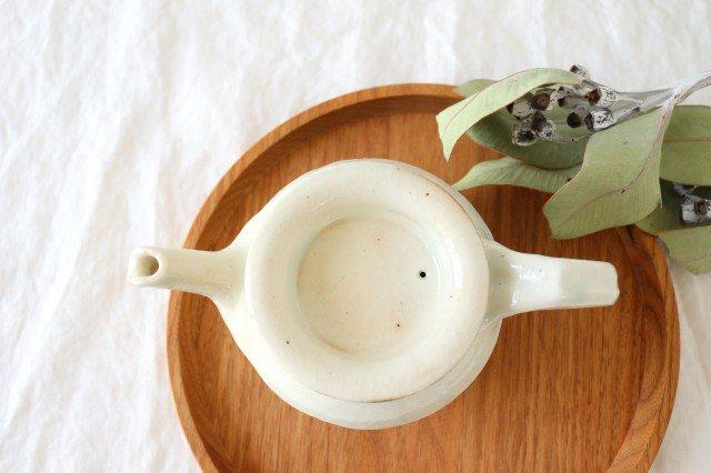 鉄散 面取ポット 低 陶器 古谷製陶所 画像2