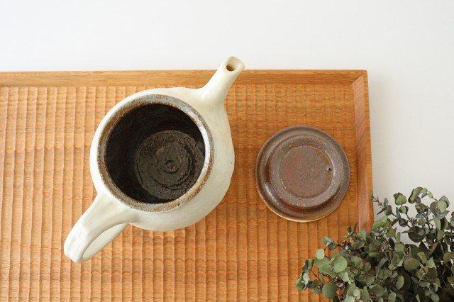 鉄散 面取ポット 低 陶器 古谷製陶所 画像4