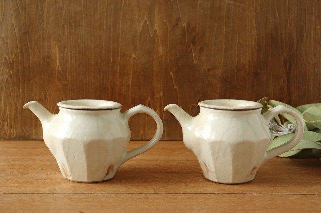 鉄散 面取ポット 低 陶器 古谷製陶所 画像5