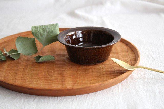 飴釉 耐熱豆鉢 陶器 古谷製陶所