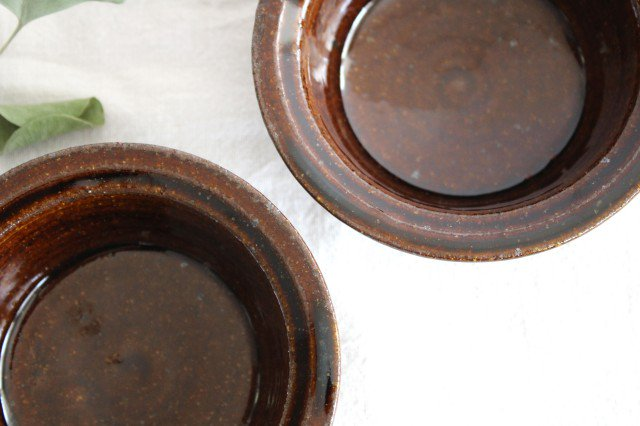 飴釉 耐熱豆鉢 陶器 古谷製陶所 画像2
