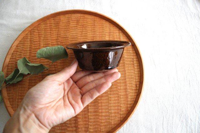 飴釉 耐熱豆鉢 陶器 古谷製陶所 画像4