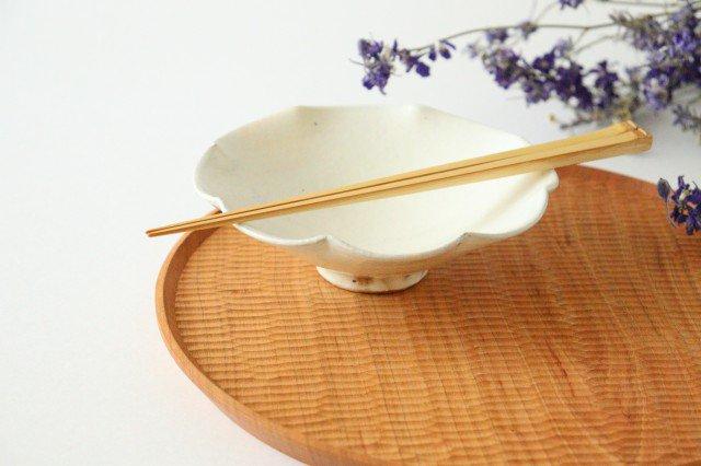 鉄散 輪花小鉢 陶器 古谷製陶所