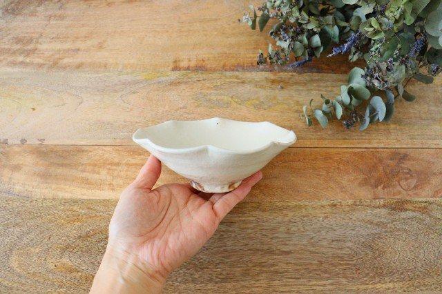 鉄散 輪花小鉢 陶器 古谷製陶所 画像2