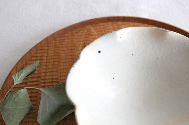 鉄散 輪花小鉢 陶器 古谷製陶所 画像3