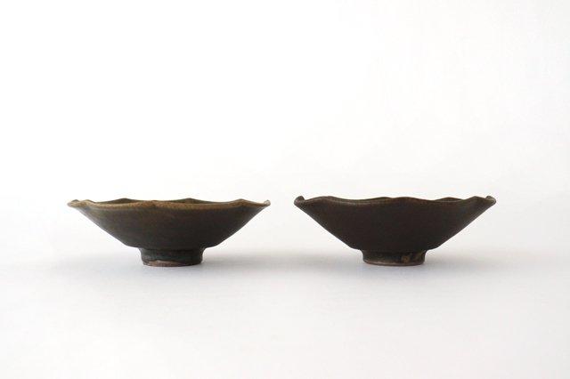 錆釉 輪花小鉢 陶器 古谷製陶所 画像4