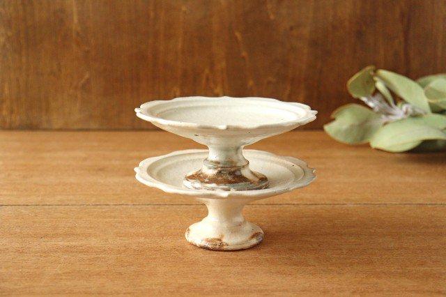 鉄散 彫刻高台皿 陶器 古谷製陶所 画像6