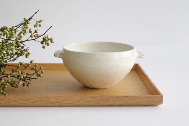 たて鉄線 耳付スープボウル 陶器 古谷製陶所 画像2