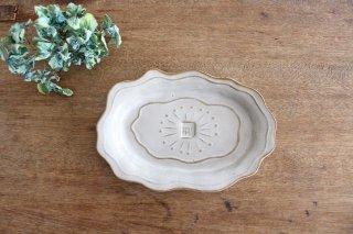 野ばらトレー 陶器 キエリ舎商品画像