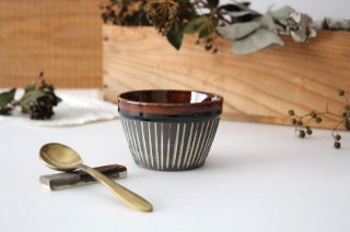 フリーカップ ストライプ 半磁器 東月窯 久保 雅裕商品画像