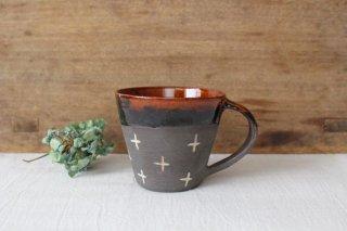 マグカップ クロス 半磁器 東月窯 久保 雅裕商品画像
