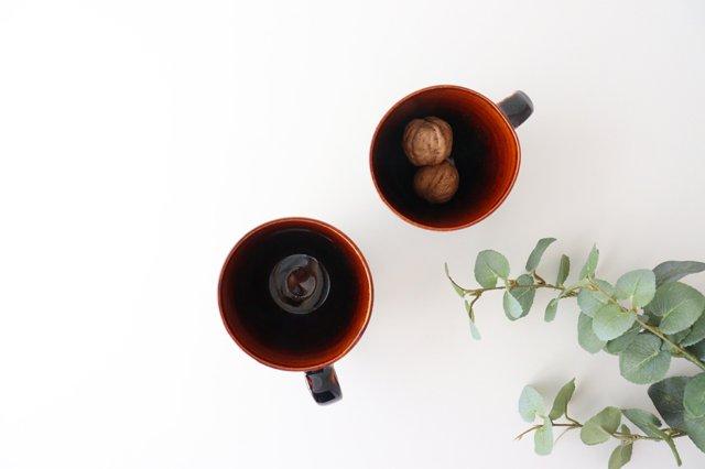マグカップ ストライプ 半磁器 東月窯 久保 雅裕 画像2