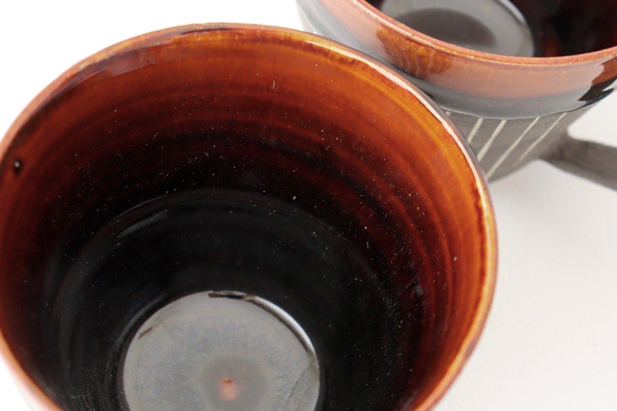 マグカップ ストライプ 半磁器 東月窯 久保 雅裕 画像6