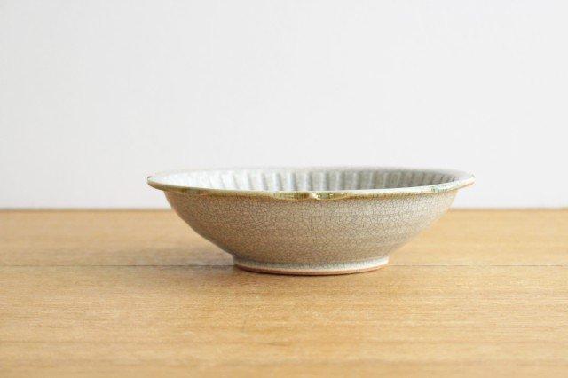輪花鉢 墨入貫入 陶器 はなクラフト 画像3