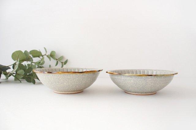 輪花鉢 墨入貫入 陶器 はなクラフト 画像6