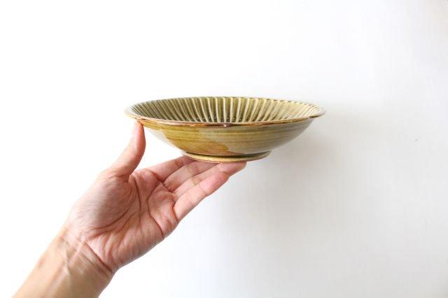 輪花鉢 飴釉 陶器 はなクラフト 画像6