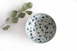 5.5寸鉢 花唐草紋 陶器 石井桃子商品画像