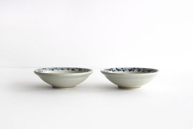 3寸豆皿 花唐草紋 陶器 石井桃子 画像5