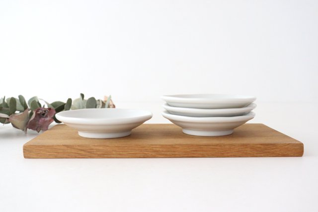九谷焼 ハレクタニ ネコ豆皿 4枚セット 磁器 画像6