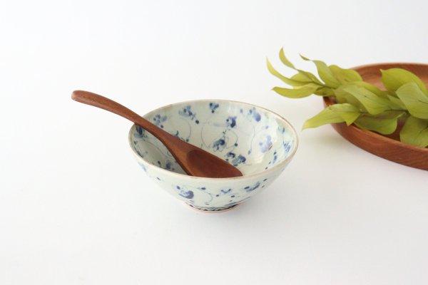 4.5寸鉢 花唐草紋 陶器 石井桃子商品画像