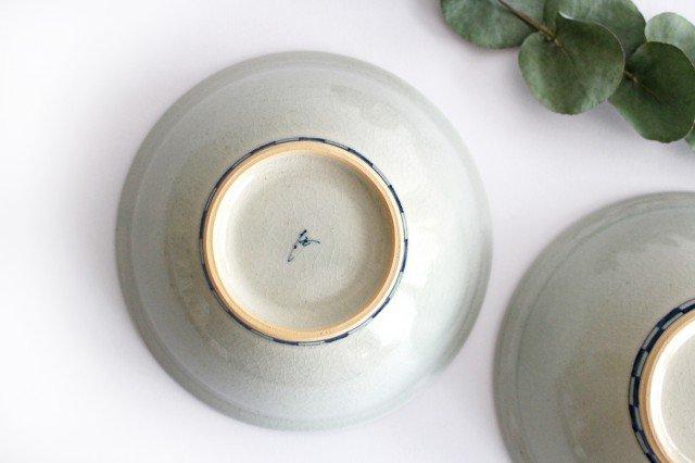 5寸リム鉢 ネコ柄 陶器 石井桃子 画像4