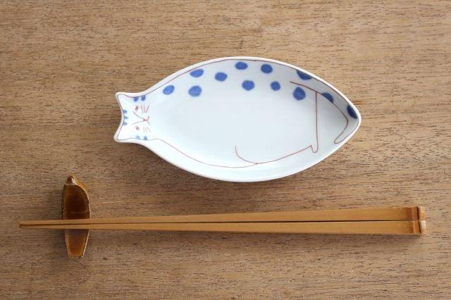 九谷焼 ハレクタニ 子ネコ皿 ブルー 磁器 画像5