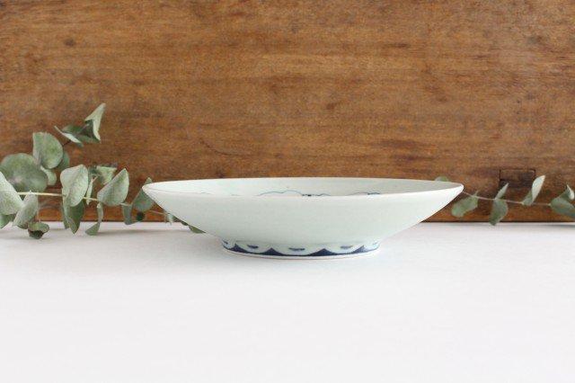 6寸皿 ゾウ柄 陶器 石井桃子 画像2