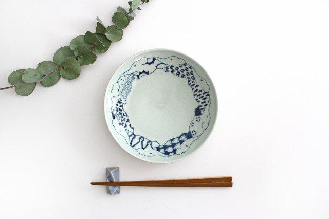 6寸皿 ゾウ柄 陶器 石井桃子 画像6