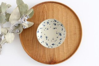 4寸皿 花唐草紋 陶器 石井桃子商品画像