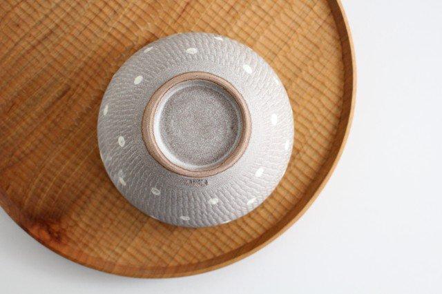 スープボウル ドットマット 【A】 陶器 翁明窯元 小石原焼 画像2