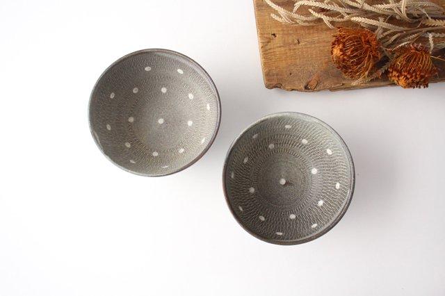 スープボウル ドットマット 【A】 陶器 翁明窯元 小石原焼 画像4