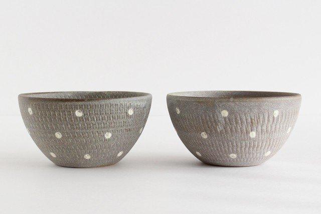スープボウル ドットマット 【A】 陶器 翁明窯元 小石原焼 画像6