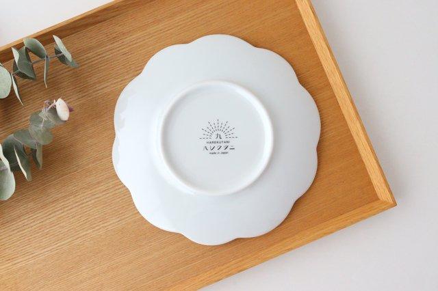 九谷焼 ハレクタニ ハナ取り皿 ブルー 磁器 画像3