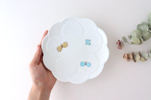 九谷焼 ハレクタニ チョウ取り皿 磁器 画像3