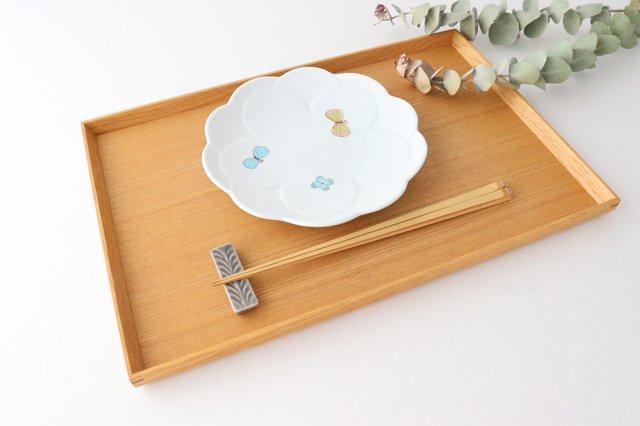 九谷焼 ハレクタニ チョウ取り皿 磁器 画像4