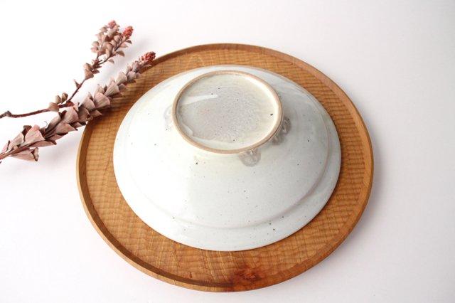 7寸リム鎬鉢 粉引 【A】 陶器 市野耕 画像2