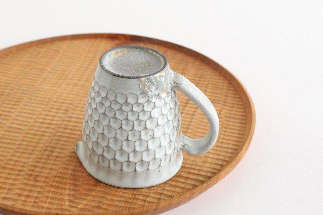 粉引 ピッチャー ウロコ 陶器 市野耕 画像4