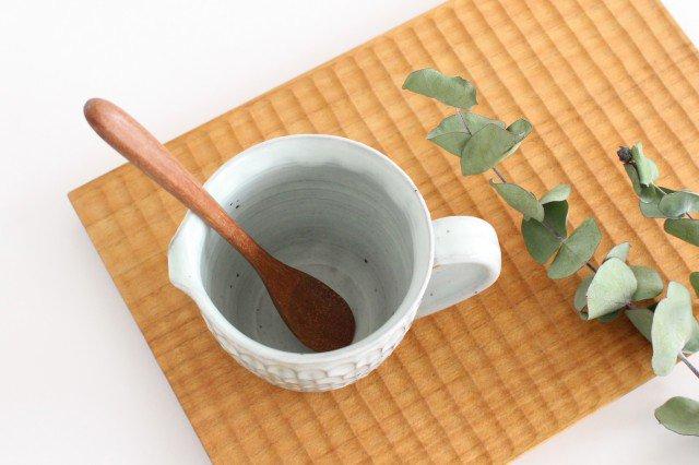 粉引 ピッチャー ウロコ 陶器 市野耕 画像6