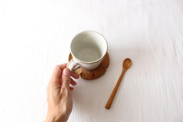 マグカップ 白 陶器 鯨井円美 画像4