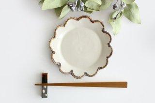 花皿 S 白 半磁器 東月窯 久保 雅裕商品画像