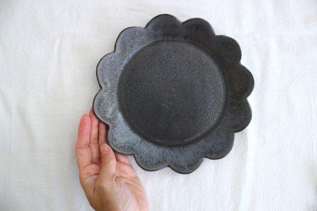 花皿 M 黒 半磁器 東月窯 久保 雅裕 画像3